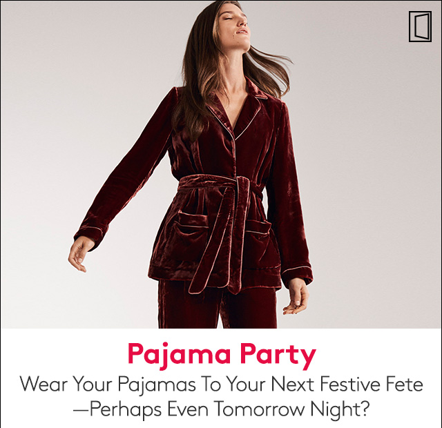 These pajama-inspired party outfits are no snore.
