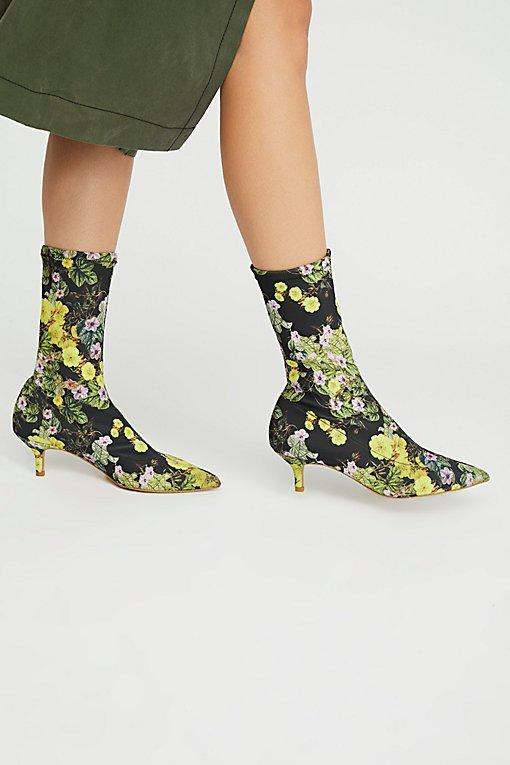 Cadence Kitten Heel Boot