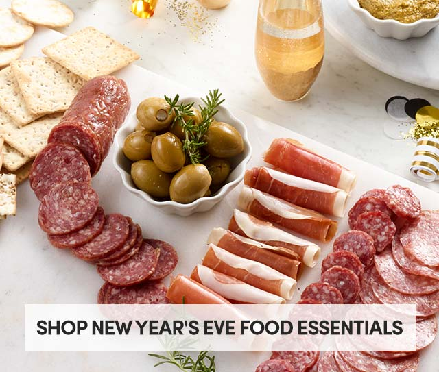 Shop New Year's Eve Food Essentials