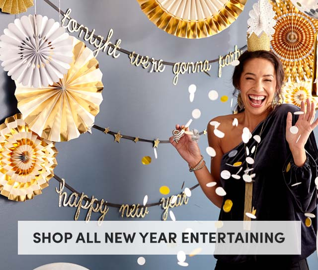 Shop All New Year Entertaining