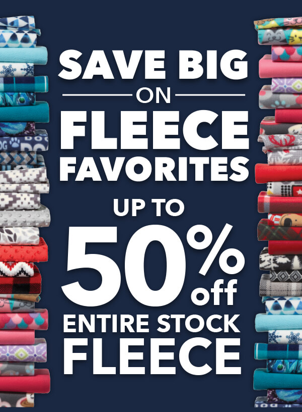 Save Big on FLEECE Favorites.