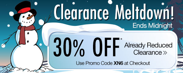 30% OFF Already Reduced Clearance!