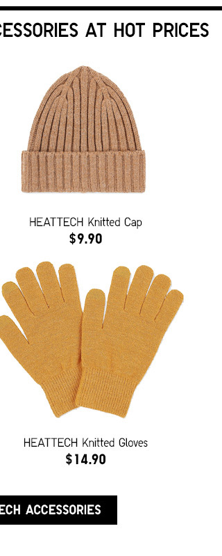 WARMING HEATTECH ACCESSORIES AT HOT PRICES - SHOP ALL HEATTECH ACCESSORIES