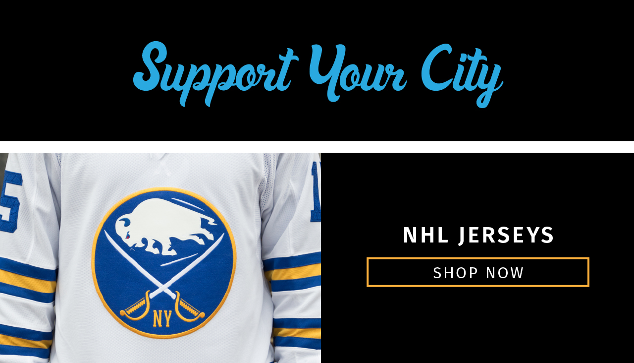 Support Your City! Shop NHL Jerseys Today!