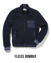 FLEECE BOMBER