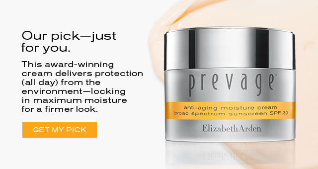 Our pickjust for you.  This award-winning  cream delivers protection  (all day) from the  environmentlocking  in maximum moisture  for a firmer look.   GET MY PICK