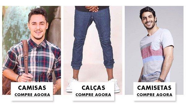 As melhores categorias de roupas