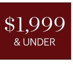 $1999 & UNDER, SHOP NOW