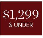 $1299 & UNDER, SHOP NOW