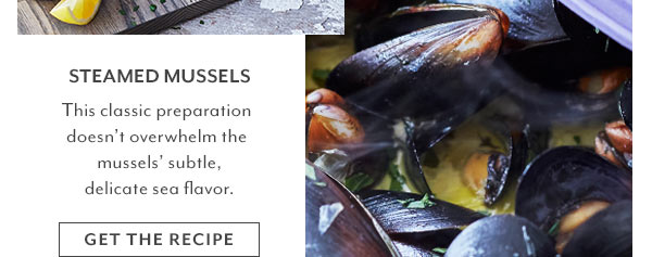 Recipe - Steamed Mussels