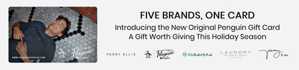 FIVe BRANDS, ONE CARD - ORIGINAL GIFT CARDS