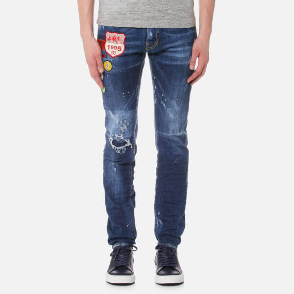 Cool Guy Patch Detail Jeans