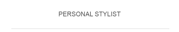 Find a Personal Stylist
