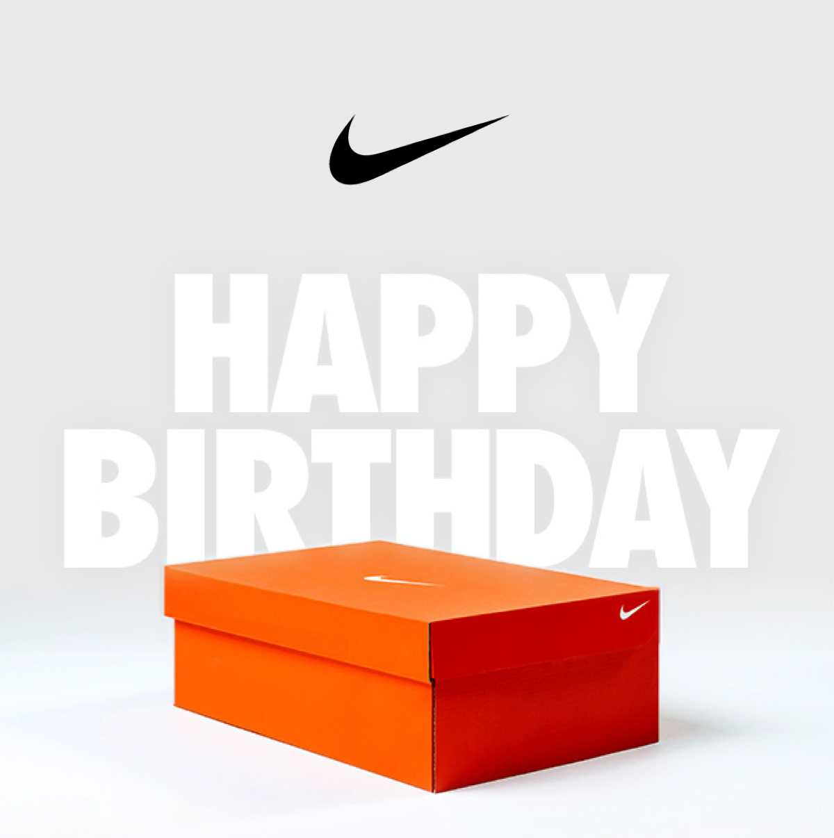 NIKE | HAPPY BIRTHDAY