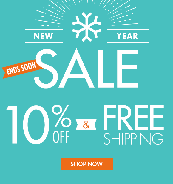 Happy New Year: Enjoy 10% Off Plus Free Shipping...Shop Now