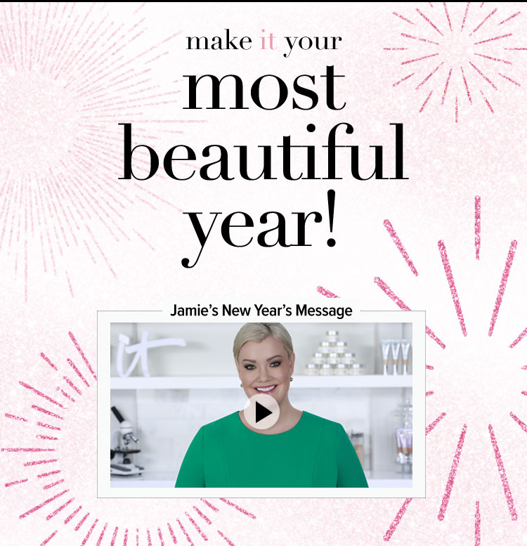 Make IT Your Most Beautiful Year! Jamie's New Year's Message