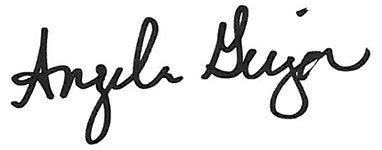 Angela Geiger Signature