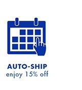 AutoShip - Enjoy 15% off