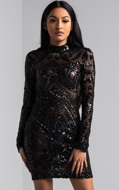 you-re-invited-sequin-mini-dress