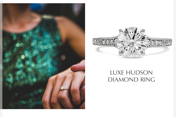 Luxe Hudson Diamond Ring