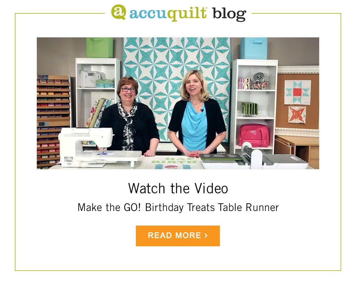 AccuQuilt Blog