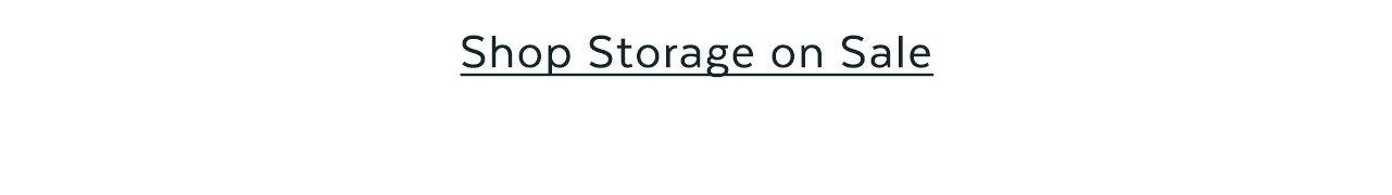 Storage on Sale
