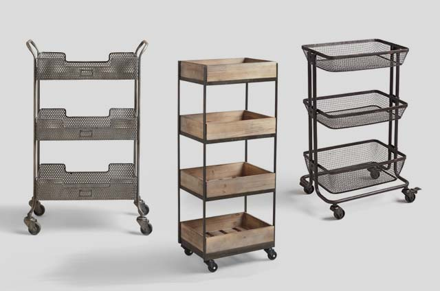 Save 20% All Rolling Storage Carts