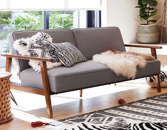 Save $150 Xander Convertible Sofa