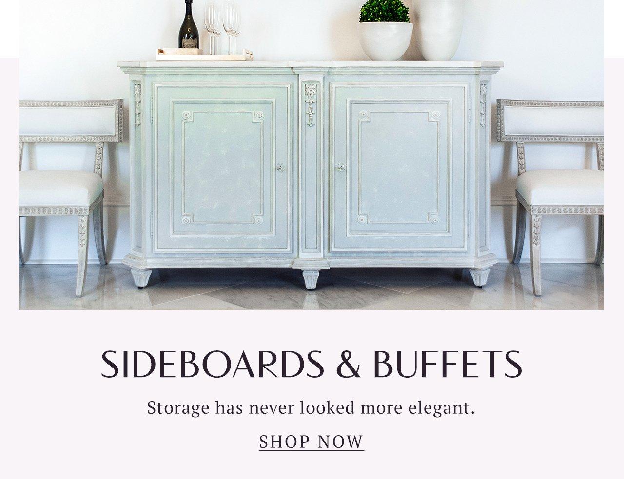 Sideboards + Buffets