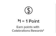 Celebrations Rewards