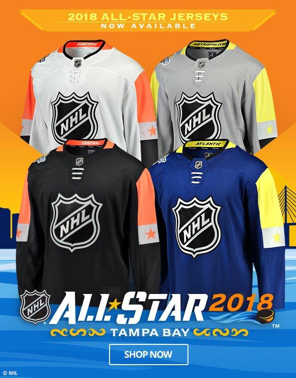 timeless design 0572d 9f263 Shop.NHL.com: JUST ARRIVED! 2018 NHL All-Star Jerseys! | Milled
