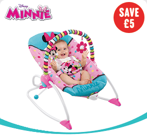 Disney Minnie Mouse Peek-A-Boo Baby Rocker