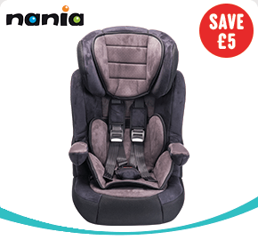 Nania Imax Premium Group 1-2-3 Car Seat Charcoal