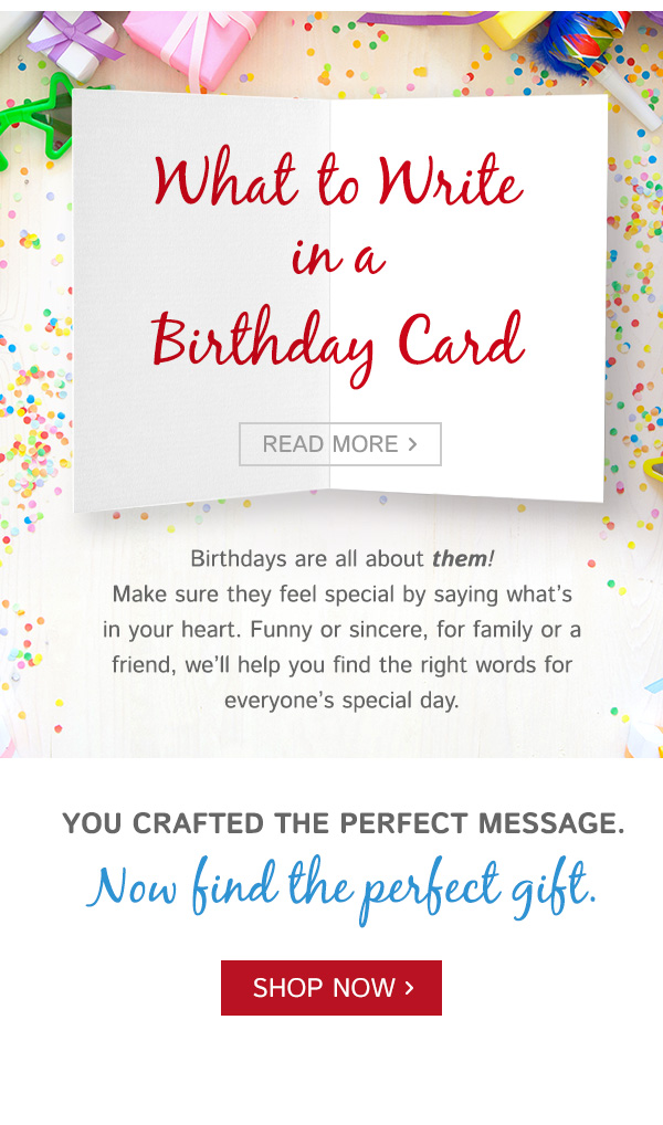 Gifts Inspired Birthday Wishes What To Write In A Birthday