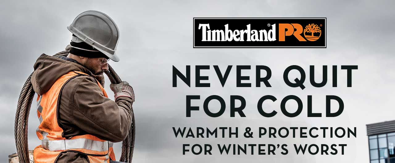 Never Quit For Cold Warmth & Protection For Winter's Worst