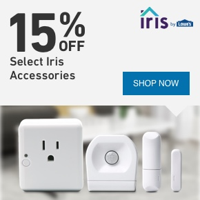 15 PERCENT OFF Select Iris Accessories.
