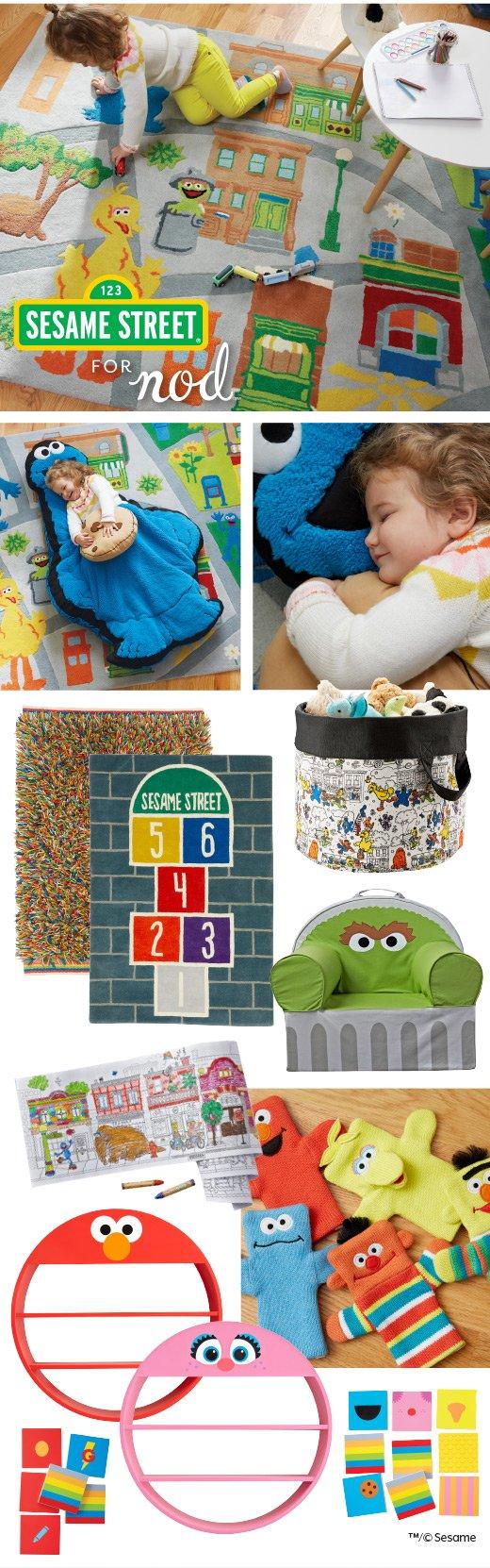 Shop Sesame Street For Nod