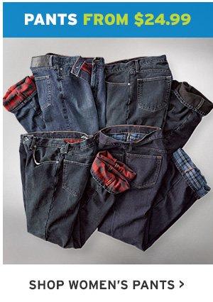 PANTS FROM $24.99 | SHOP WOMEN'S PANTS