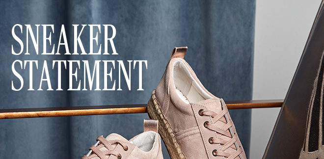 Sneaker Statement - Shop Now