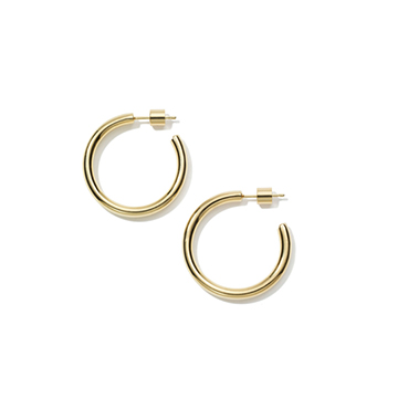 Jennifer Fisher x goop Goop Hoop Earrings $200