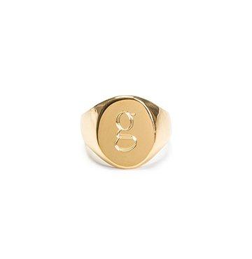 Sarah Chloe x goop Lana Pinky Ring $118