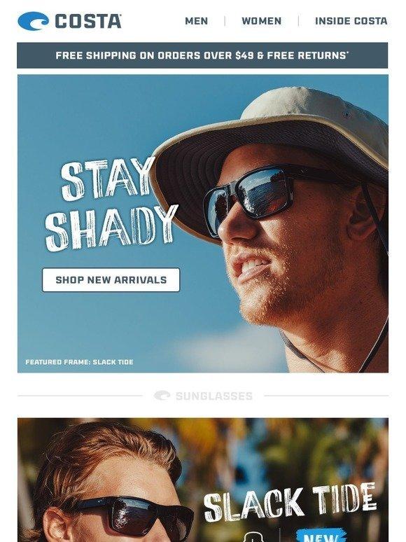 c6990158d0d Costa Sunglasses  Slack Tide   Bayside