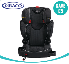 Graco Affix Group 2-3 Car Seat Black
