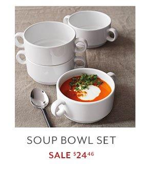 Soup Bowl  sc 1 st  Milled & Sur la Table: The Whiteware Sale: Dine Serve u0026 Entertain in Style ...