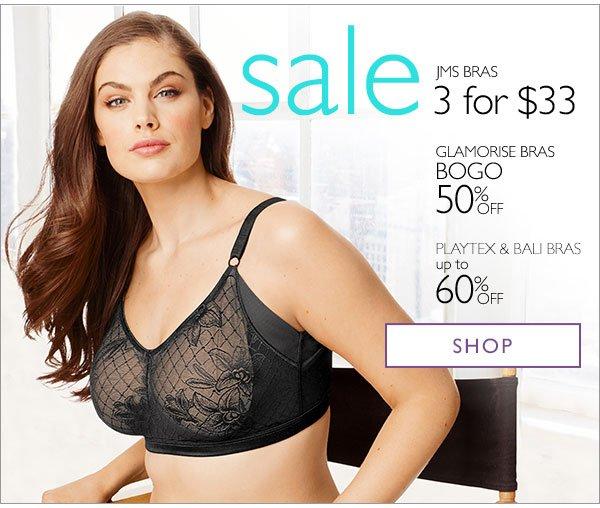 75228e58036e Just My Size: Smart Starts: Sales on Bras, Panties & Legwear! | Milled