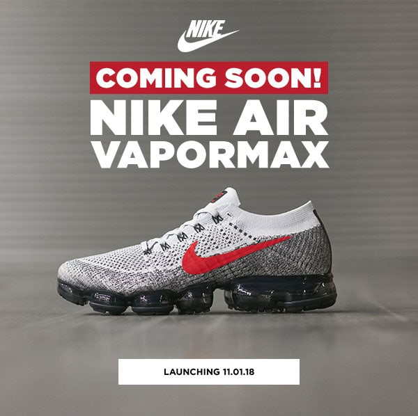 JD Sports: Coming Soon! All New Nike Air VaporMax! Milled