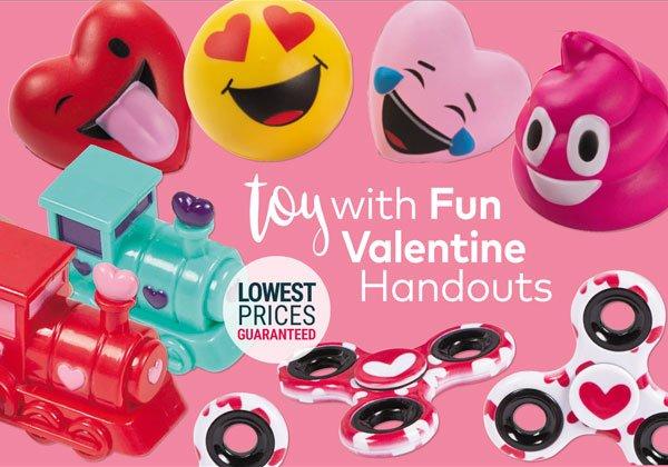 Außergewöhnlich Valentine Toys