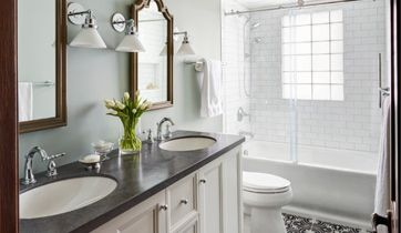 Houzz SmallBathroom Transformations How To Simplify Your Life - Bathroom transformations