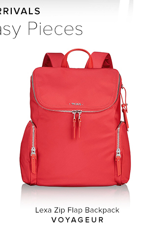 Lexa Zip Flap Backpack