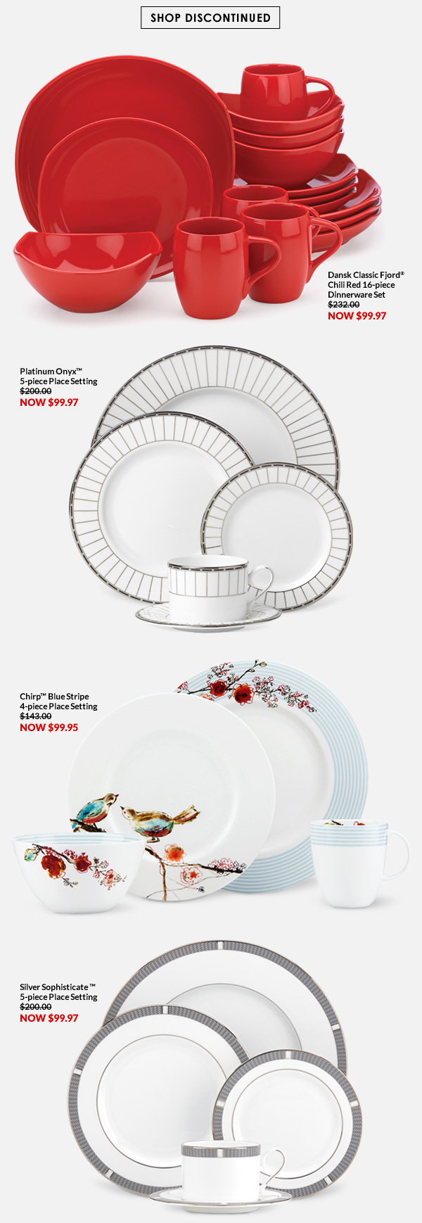 25% Off Discontinued Dinnerware   Milled  sc 1 st  Milled & Lenox: Today Only! 25% Off Discontinued Dinnerware   Milled